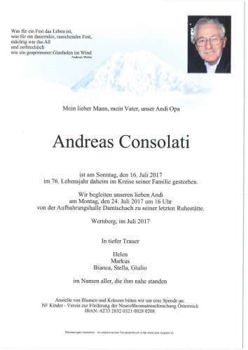 Andreas Consolati