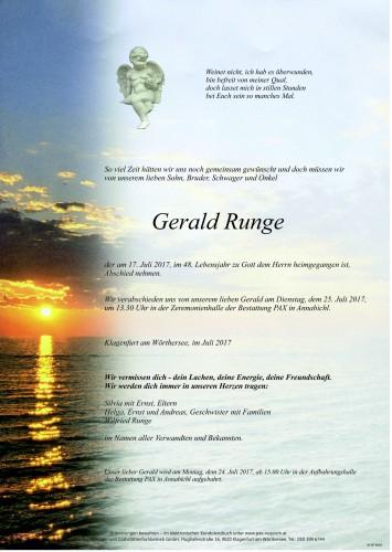 Gerald Runge