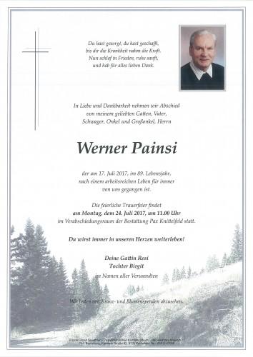 Werner Painsi