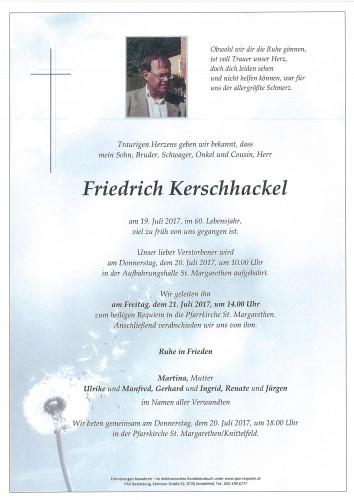 Friedrich Kerschhackel