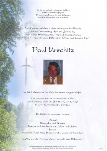 Paul Urschitz
