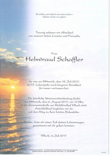 Helmtraud Schffler