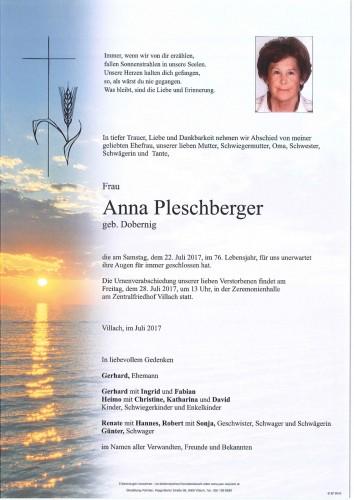 Anna Pleschberger