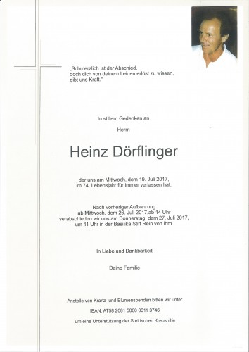 Heinz Dörflinger