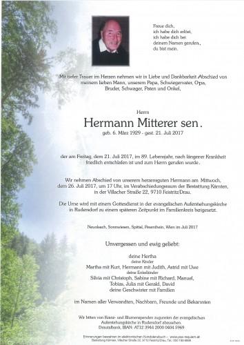 Hermann Mitterer sen.