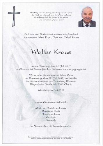 Walter Kraus