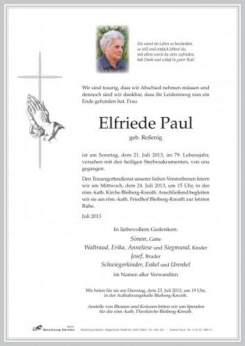 Elfriede Paul