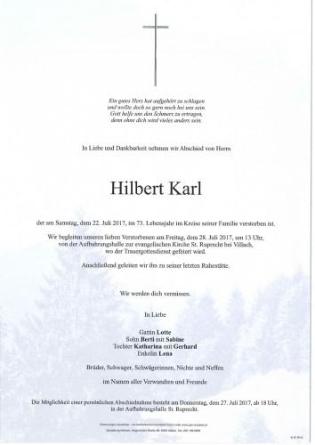 Hilbert Karl