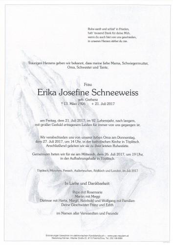 Erika Josefine Schneeweiss