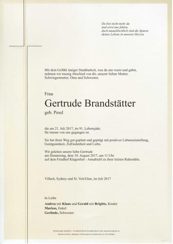 Gertrude Brandstätter
