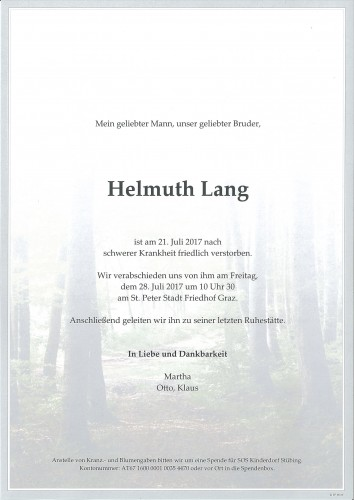 Helmuth Lang