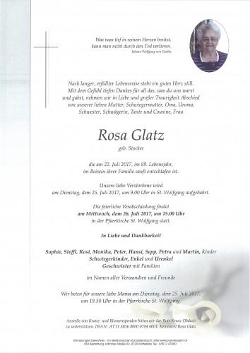 Rosa Glatz