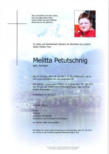 Melitta Petutschnig