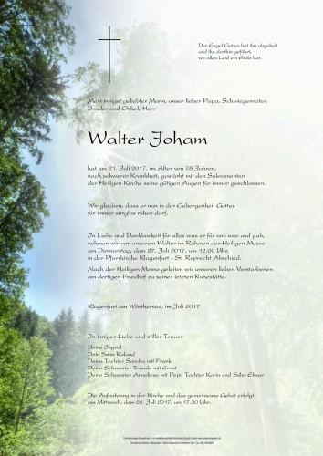 Walter Joham