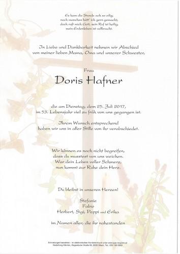 Doris Hafner