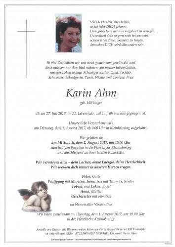 Karin Ahm