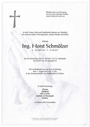 Ing. Horst Schmölzer