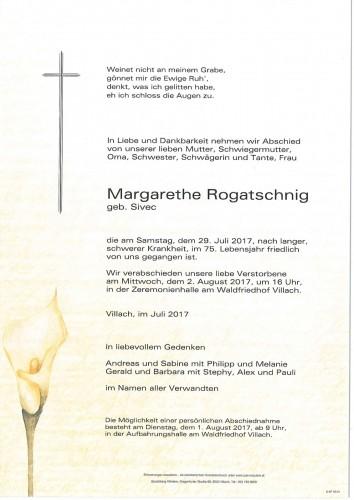 Margarethe Rogatschnig