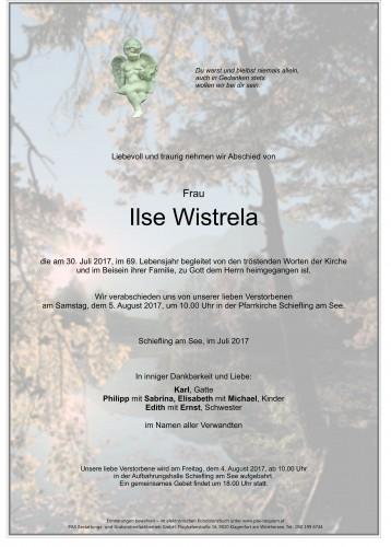 Ilse Wistrela