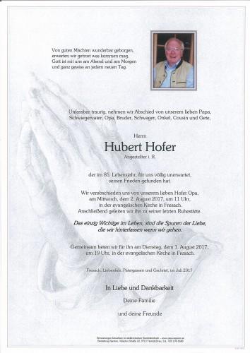 Hubert Hofer