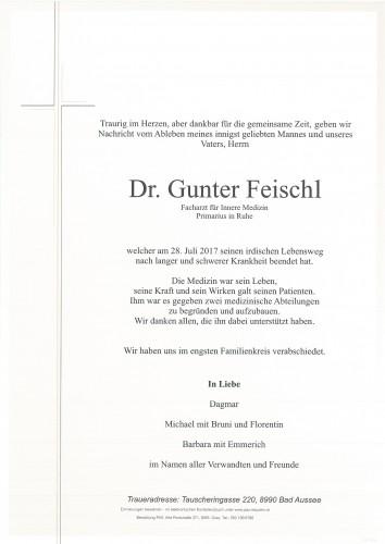 Dr.med. Gunter Feischl