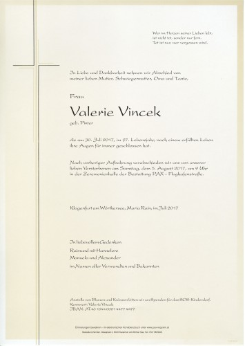 Valerie Vincek