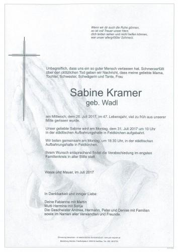 Sabine Kramer