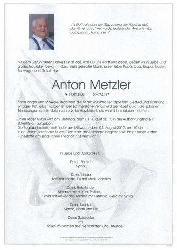 Anton Metzler