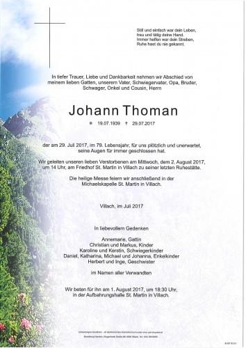 Johann Thoman
