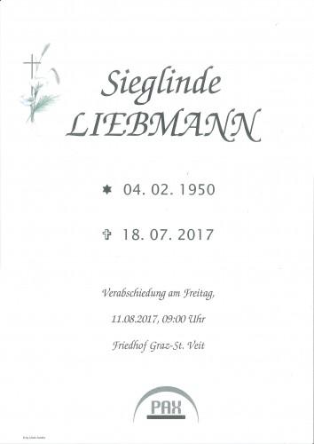Sieglinde Liebmann