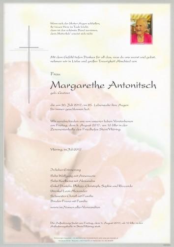 Margarethe Antonitsch