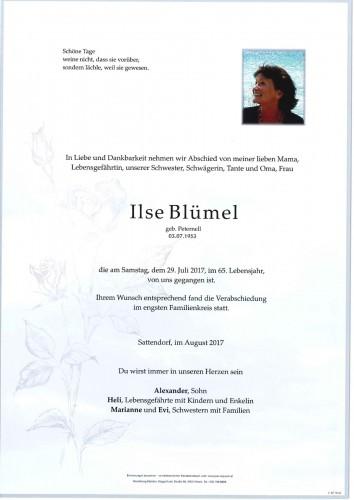 Ilse Blümel