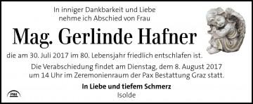 Mag. Gerlinde Hafner