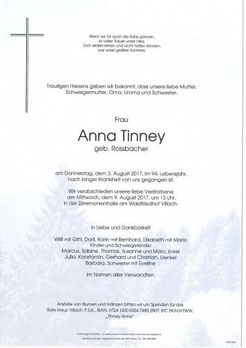 Anna Tinney