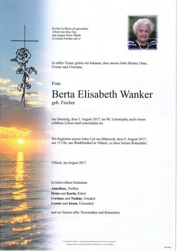 Berta Elisabeth Wanker