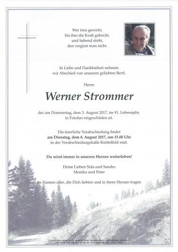 Strommer Werner