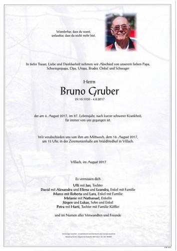 Bruno Gruber