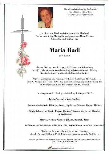 Maria Radl