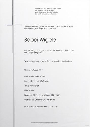 Seppi Wigele