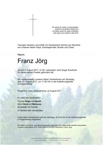 Franz Jörg