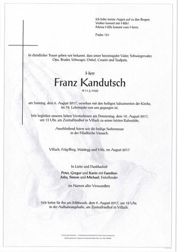 Franz Kandutsch