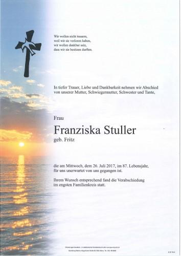 Franziska Stuller
