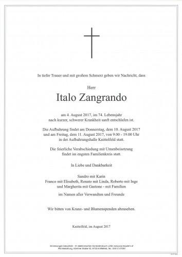 Italo Zangrando