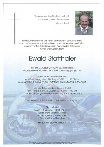 Ewald Statthaler