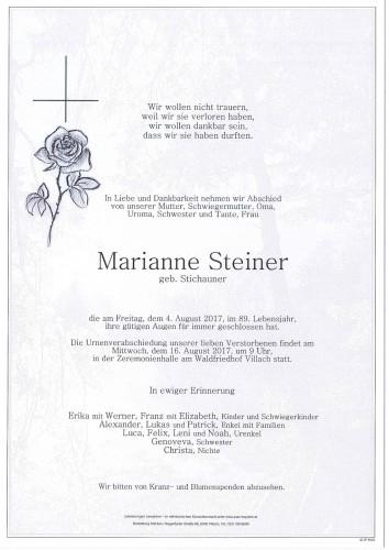 Marianne Steiner
