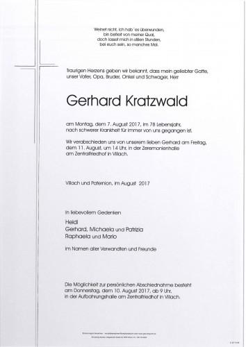 Gerhard Kratzwald