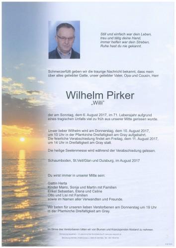 Wilhelm Pirker