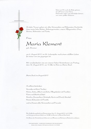 Maria Klement