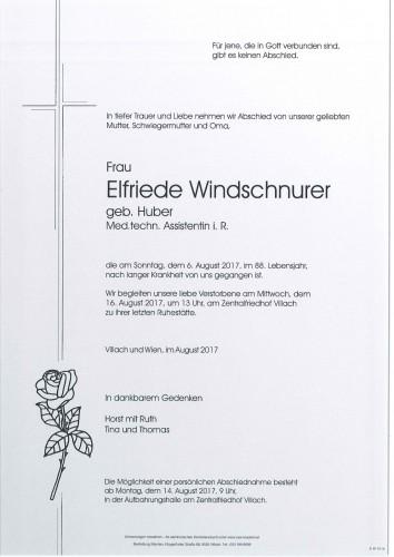 Elfriede Windschnurer