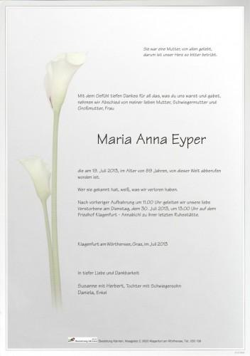 Maria Anna Eyper